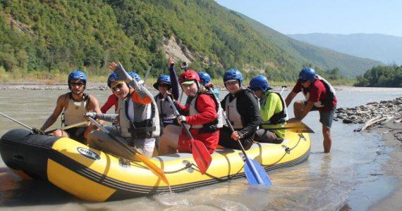 Rafting in the Racha-Lechkhumi region